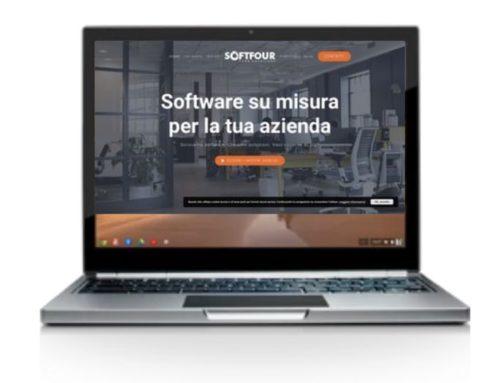 Nuovo sito Softfour: un risultato da 100 e lode