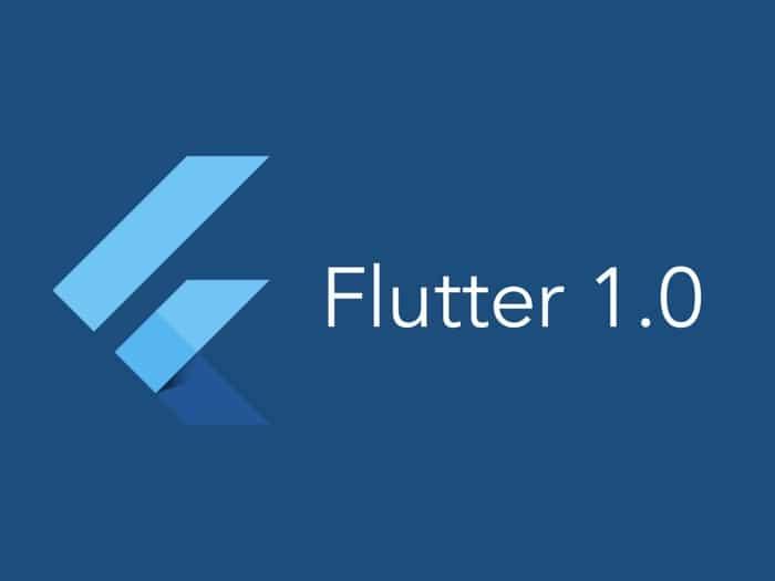google flutter 1.0 logo