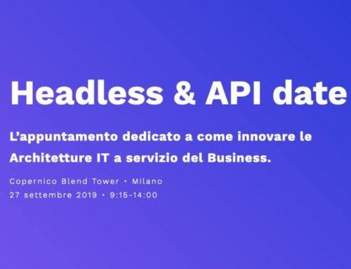 """Softfour all'evento """"Headless & API date"""" di Milano"""