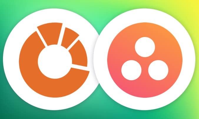 Logo Softfour e Asana - sviluppo integrazioni custom per Asana