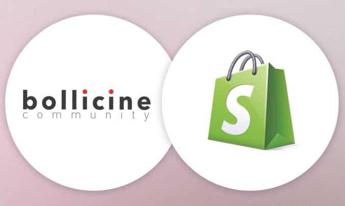 loghi bollicine e shopify - sviluppo integrazione tra le due piattaforme