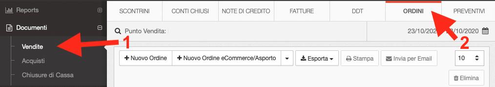 Integrazione Cassa in Cloud - WooCommerce per trasferimento automatico ordini dei clienti - Schermata 1